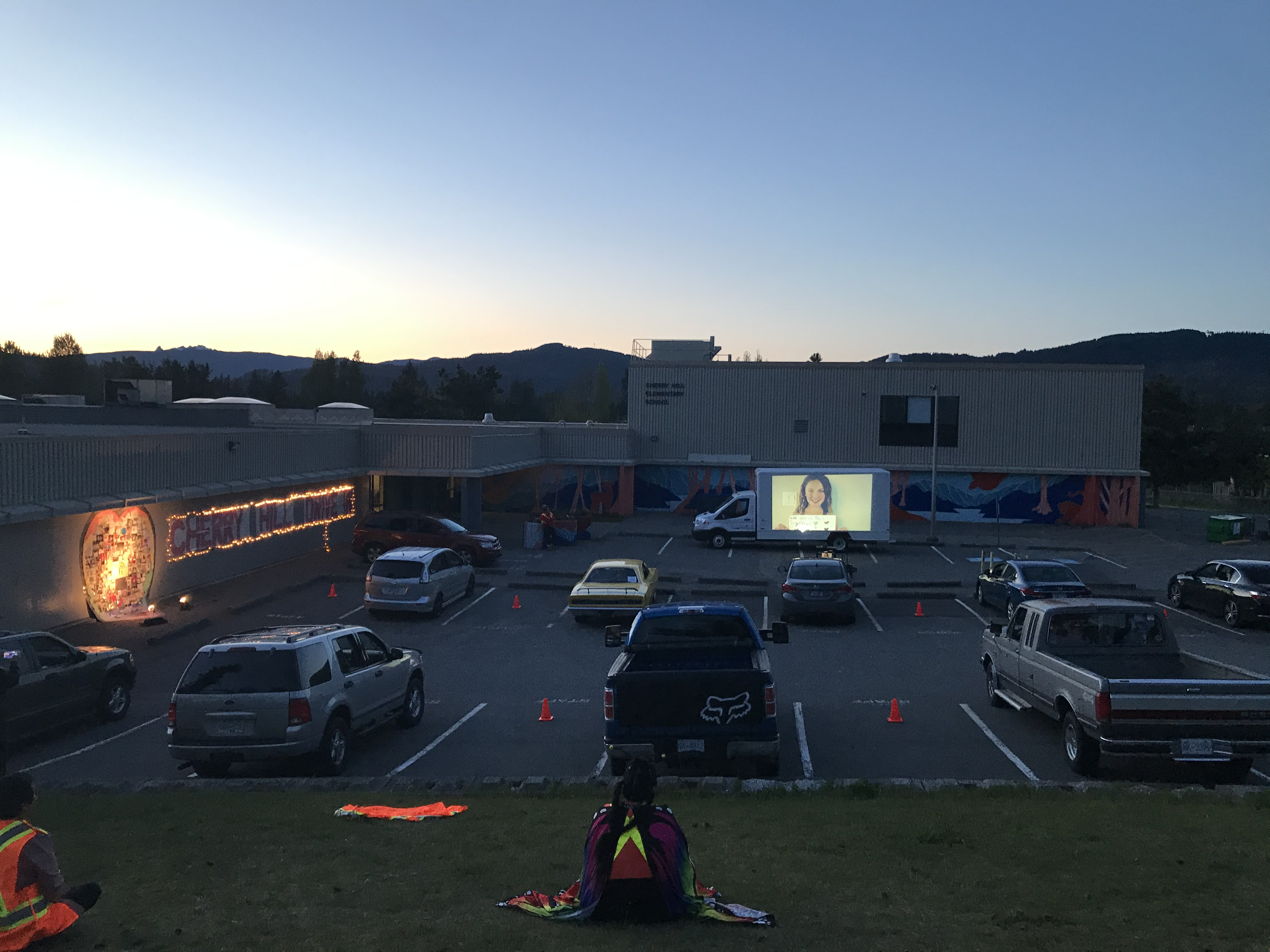 Cherry Hill's 'Together While Apart' Drive-In Event